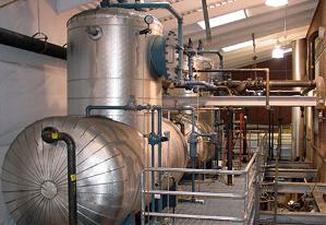 Steam distribution system modeling - Water Hammer